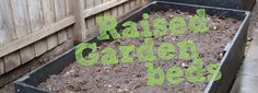 Step-by-step instructions for making raised garden beds from eWood.