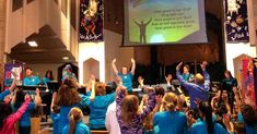 Worship includes 'all ages and all stages' at a San Mateo church