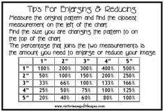 Tips for Enlarging & Reducing Chart http://www.victorianaquiltdesigns.com/VictorianaQuilters/Library/QuiltingDesigns/Quiltingdesigns.htm #quilting