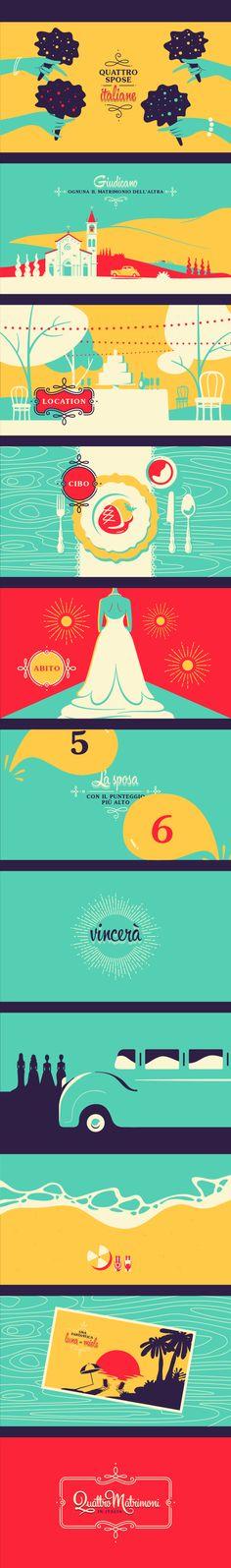 Quattro Matrimoni by Santiago Wardak, via Behance