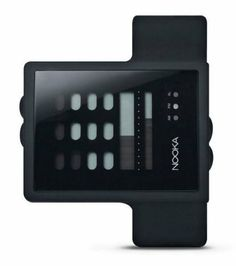 Nooka ZUB ZAYU Black Digital Watch NOOKA. $122.92. Bottom Bar Displays Minutes. AM/PM Display. Upper Dial Displays Hours. Fun and Unique Watches By Nooka. Sleep Mode Conserves Power When Not In Use. Save 28% Off!