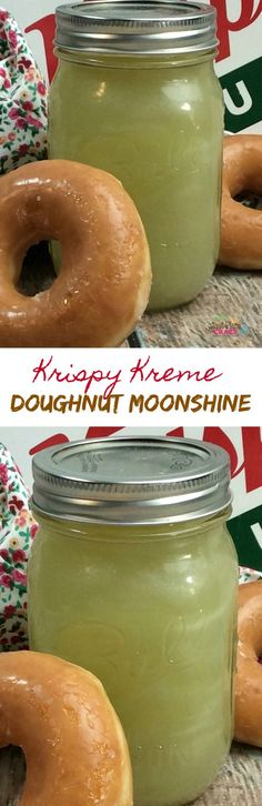 It's National Glazed Doughnut Day and we have a Krispy Kreme Glazed Doughnut Moonshine recipe for you. We figured we would come up with a glazed doughnut that wasn't actually a doughnut.