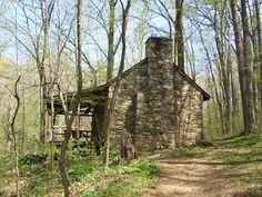 Myron Glaser Cabin.