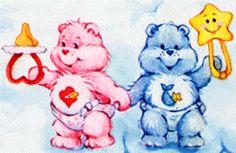 Baby CareBear Twins - Hugs and Tugs