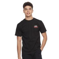 Men's Vans Roseday Tee, Size: Medium, Black