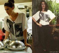 Paola usa blusa Damyller, pulseira Maria Valentina, sandálias Sarah Chofakian e um jeans de seu acervo pessoal no episódio exibido na última terça-feira, 1 de setembro de 2015
