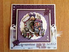 3D Christmas card (designed by Ankeline) - 3D kerstkaart (ontwerp van Ankeline)