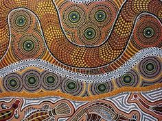 Aboriginal Art - Mural ideas