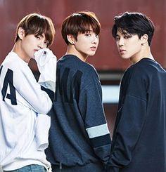 Kim Taehyung, Jeon Jungkook, Park Jimin - BTS - Welcome to the Maknae Line Vmin, Bts Jungkook, Jikook, K Pop, Wattpad, Les Bts, Bts Maknae Line, Heechul, Bts Korea