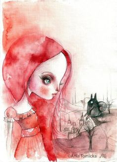 Cuento illustration by Ana Tomicka on Etsy