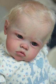 Reborn Baby Girl Doll Sharlamae by Bonnie Brown  /reborn artist Elena