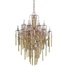 £1179.99 stunning gold chain chandelier, absolutely the best!!!