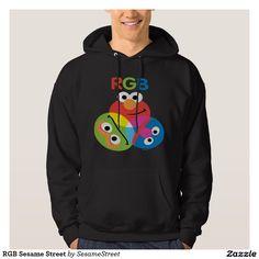 RGB Sesame Street Hoodie