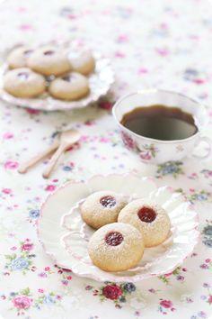 Verdade de sabor: Печенье с арахисовой пастой и джемом / Bolachas de...