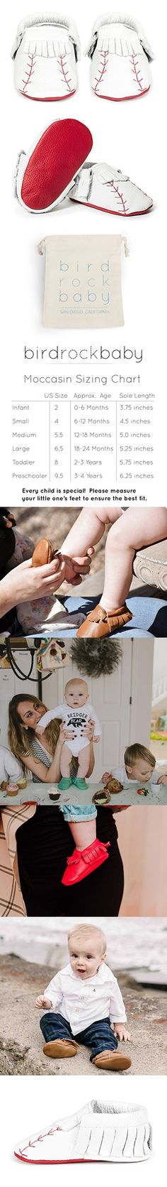 BirdRock Baby Moccasins - Soft Sole Leather Boys and Girls Shoes for Infants, Babies, and Toddlers (Preschooler Home Run Baseball, Girls Shoes, Baby Shoes, Baby Moccasins, Baby Boy Fashion, Infants, Boy Or Girl, Preschool, Toddlers