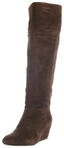 I like this boot's shape and comfort level, but I think the brown color is little funky. I was looking for a chocolatey boot, but this almost has a purplish tone. The color is not terrible, it's just not my ideal brown. I'm keeping them anyway. :) Enjoy this boot!