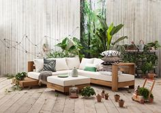 whkmp's own loungeset Belmonte , Naturel/wit Garden Design, House Design, Outdoor Furniture Sets, Outdoor Decor, Terrace Garden, Building A House, Sweet Home, Cool Stuff, Relax