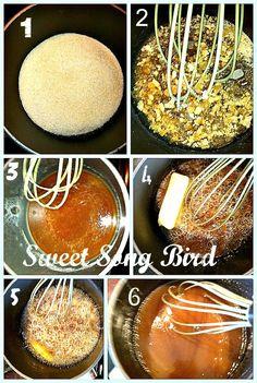 Sweet Song Bird: Homemade Caramel Sauce Recipe