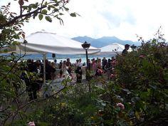 Hochzeit am Tegernsee mit dem wunderbaren Blick über die Gegend