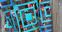 (Groan) I am still working on getting to the bottom of the scrap bin. Amanda Jean over at Crazy Mom Quilts commented that scrap management i...