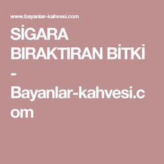 SİGARA BIRAKTIRAN BİTKİ - Bayanlar-kahvesi.com