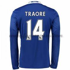 edee646d51 Camisetas De Futbol Chelsea Traore 14 Primera Equipación Manga Larga  2016-17 Football Chelsea