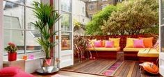 Resultado de imagen para como decorar las barandas de una terraza