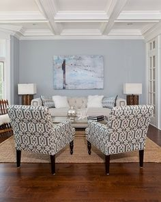 Coastal Living in Fairfield county - beach style - living room - new york - by Birgit Anich Staging & Interiors