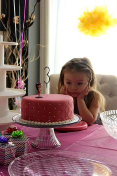 Birthday celebrations for our three year old daughter, Willow! <3
