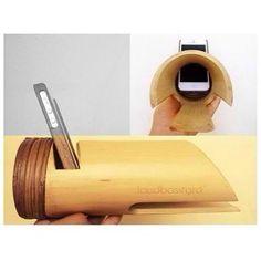 Loudbasstard, el altavoz hecho de bambú :D