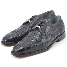 Belvedere Susa! Toned genuine crocodile, with genuine ostrich trim. Guaranteed comfort with soft lambskin leather linings, cushioned insoles, and extended dress leather sole you'll feel great while making a lasting impression!