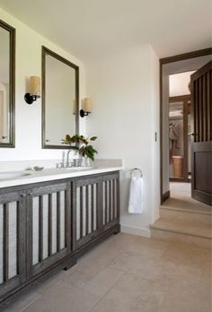 CORSE - PROPRIETE | CORSICA - PROPERTY | Jean Louis Deniot bathroom vanity