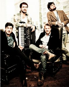 Mumford & Sons...what an attractive group.