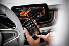 BMW Connected Drive #car #vehicle #ui