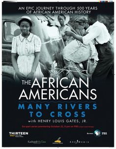 Many Rivers to Cross with Henry Louis Gates, JR. // African American Quotation Posters