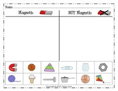 kindergarten printable magnets | Click the picture above to grab your own copy of the sort. Enjoy!