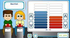 Quiz scorebord voor op het smartboard