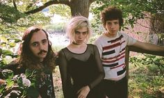 Sunflower Bean (left to right): Jacob Faber, Julia Cumming, Nick Kivlen.