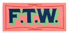 FTW - Keith Scharwath