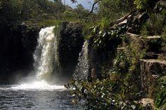 Cachoeira São Bento, próximo a Alto Paraíso