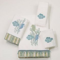 Reef Life Towel Collection