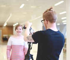 Last Saturday our team gathered in the Kaisa library to do something we had never done before: to film a video. And not just any video, but an introduction video for our chapter! Her Campus, Helsinki, Something To Do, Behind The Scenes, Film, Photography, Movie, Photograph, Film Stock