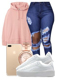Untitled #872 by sassy-akia on Polyvore featuring polyvore Puma Michael Kors fashion style clothing