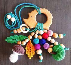 Купить Грызунок прорезыватель из бука Лесной Ёжик в интернет магазине на Ярмарке Мастеров Crochet Baby Toys, Newborn Crochet, Crochet Bunny, Diy Crochet, Knitting Patterns, Crochet Patterns, Bunny And Bear, Newborn Toys, Gifts For New Moms