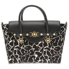 VERSACE printed tote ($2,867) ❤ liked on Polyvore