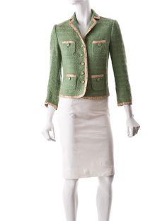 Moschino Bouclé Jacket