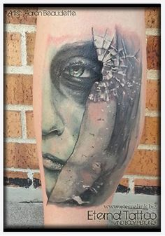 1000 images about tattoos on pinterest broken glass for Shattered glass tattoo