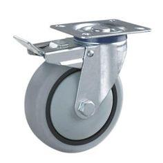 Perfect Ruedas para Muebles con Freno Materiales de las ruedas n cleo de PP con la rueda