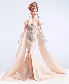 2014 Midnight Celebration designed by Artist Creations - PLATINUM LABEL. Created for 2014 National Barbie Convention.