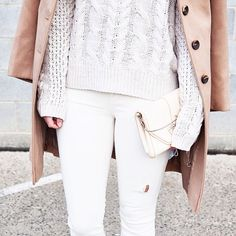soft neutrals layered look